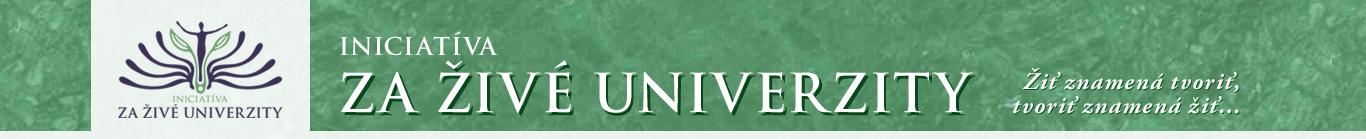 Živé univerzity